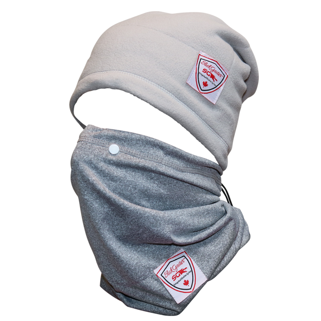 Slick Gaiter Neck Gaiter All Seasons Set Developed by LuxeAvant Innovations Inc